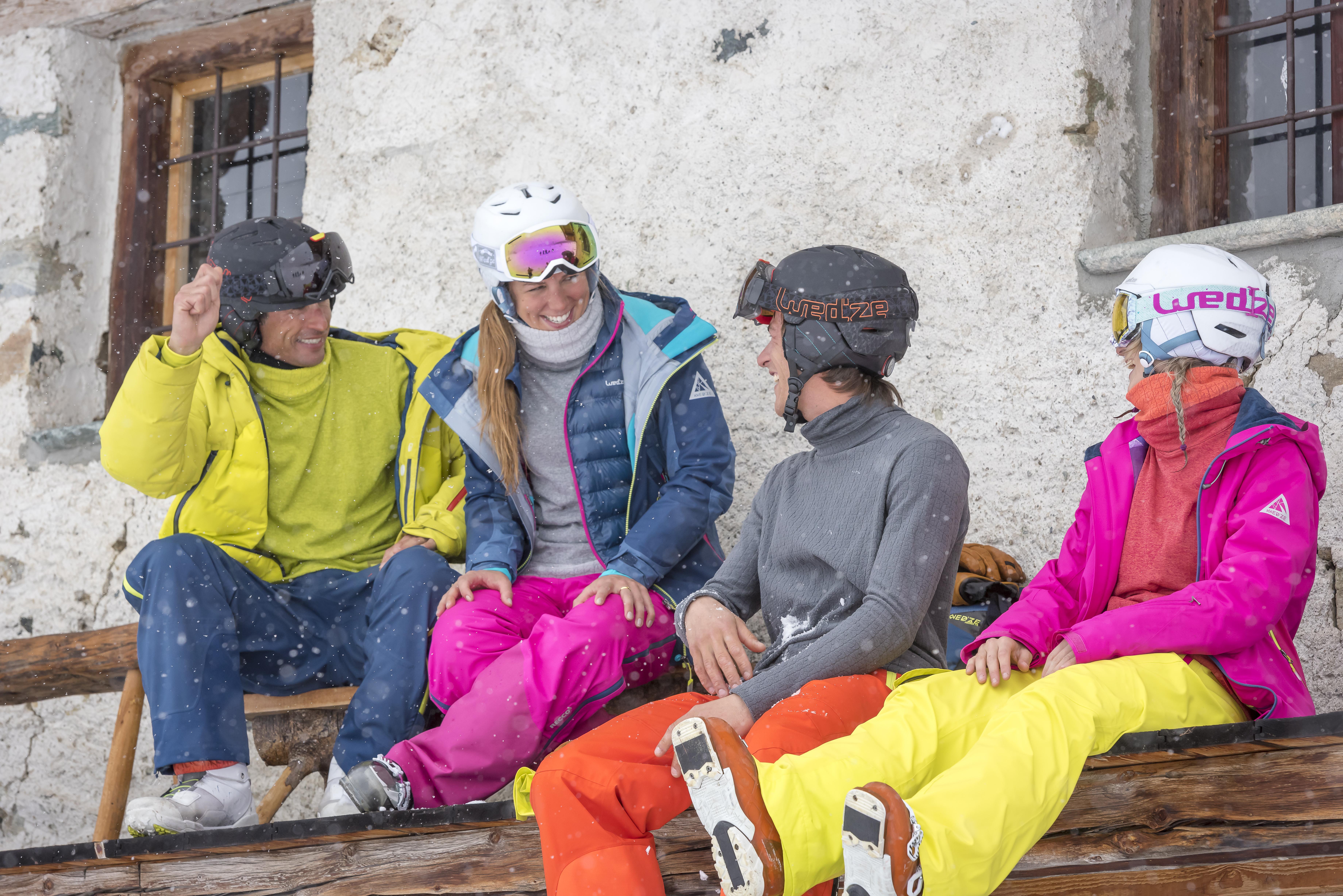 kayak kıyafetleri , kayak malzemeleri, kayak ekipmanları
