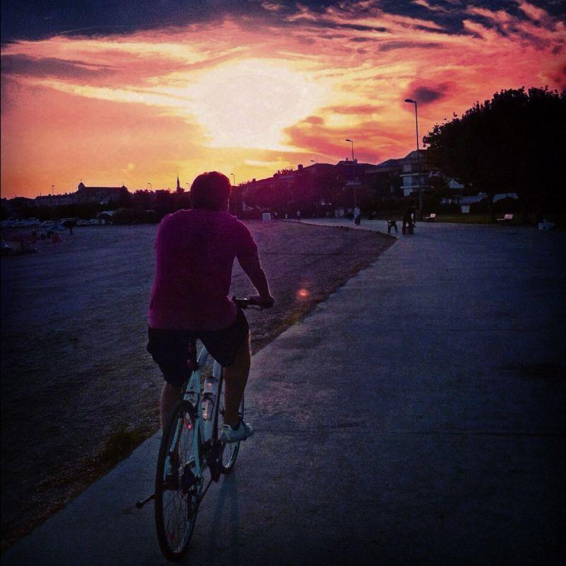yeşilköyde bisiklet