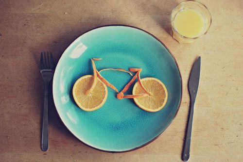 bisiklet yemek