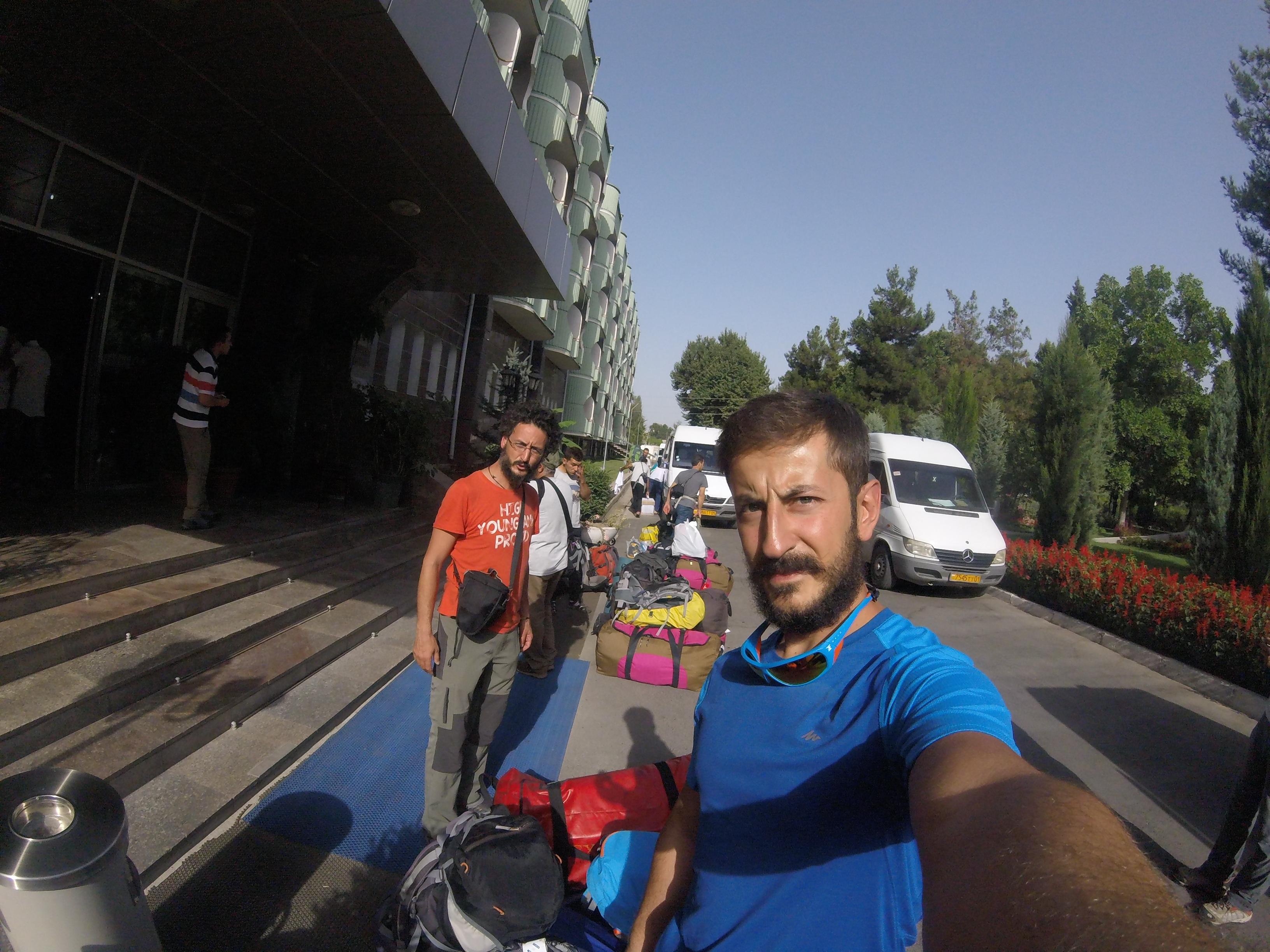 Duşanbe'den Jirgital'e geçmeden önce