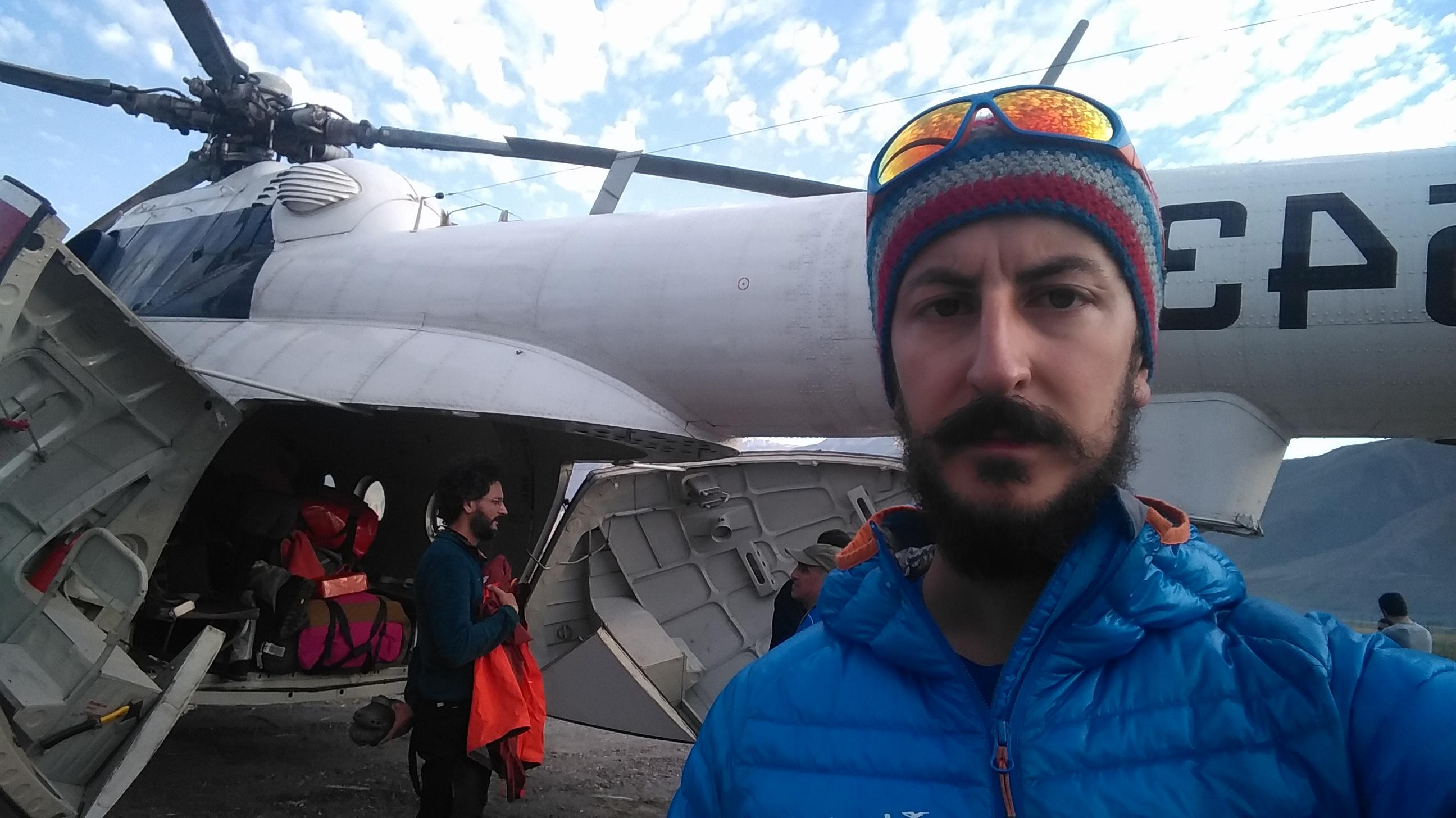 Jirgital'den helikoptere binerken