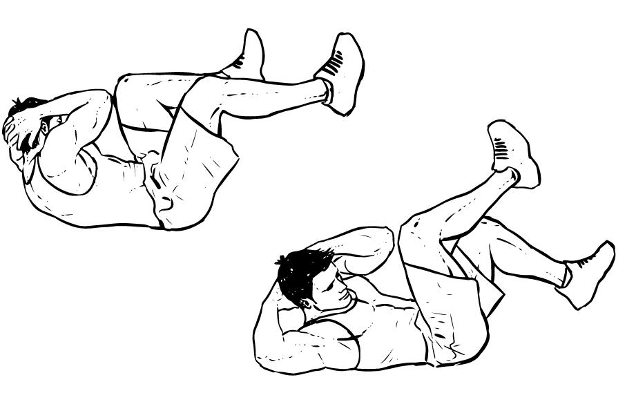 Erkekler Icin Karin Ve Kol Egzersizleri Decathlon Blog